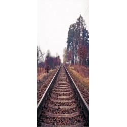 Deursticker spoorweg