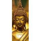 Deursticker Gouden Buddha