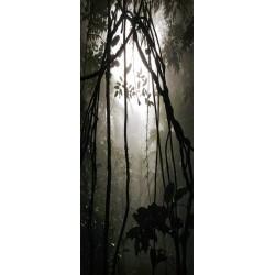 Deursticker oerwoud