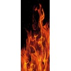 Deursticker Vlammen