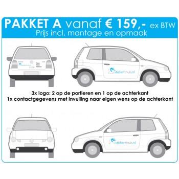 Offerteaanvraag personenauto pakket A