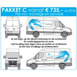 Offerteaanvraag bestelwagen pakket C