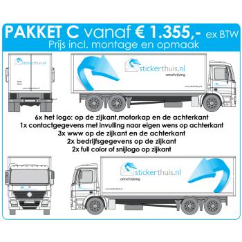 Offerteaanvraag vrachtwagen pakket C