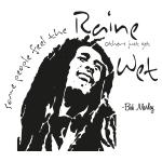 Muursticker Bob Marley