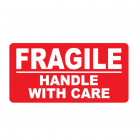 Fragile sticker 10 x 20 cm