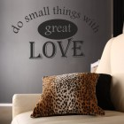 Muursticker Great Love
