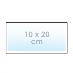 Sticker 10 x 20 cm