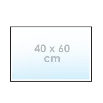 Ontwerp online: sticker 40 x 60 cm