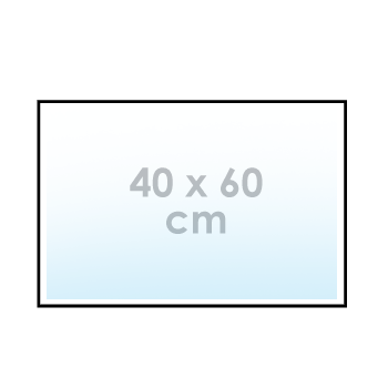 Sticker 40 x 60 cm