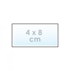 Ontwerp online: sticker 4 x 8 cm