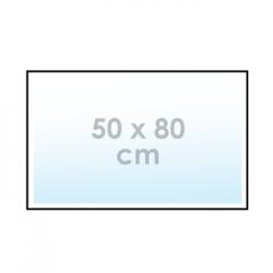 Ontwerp online: sticker 50 x 80 cm