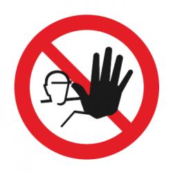 verboden toegang voor onbevoegden